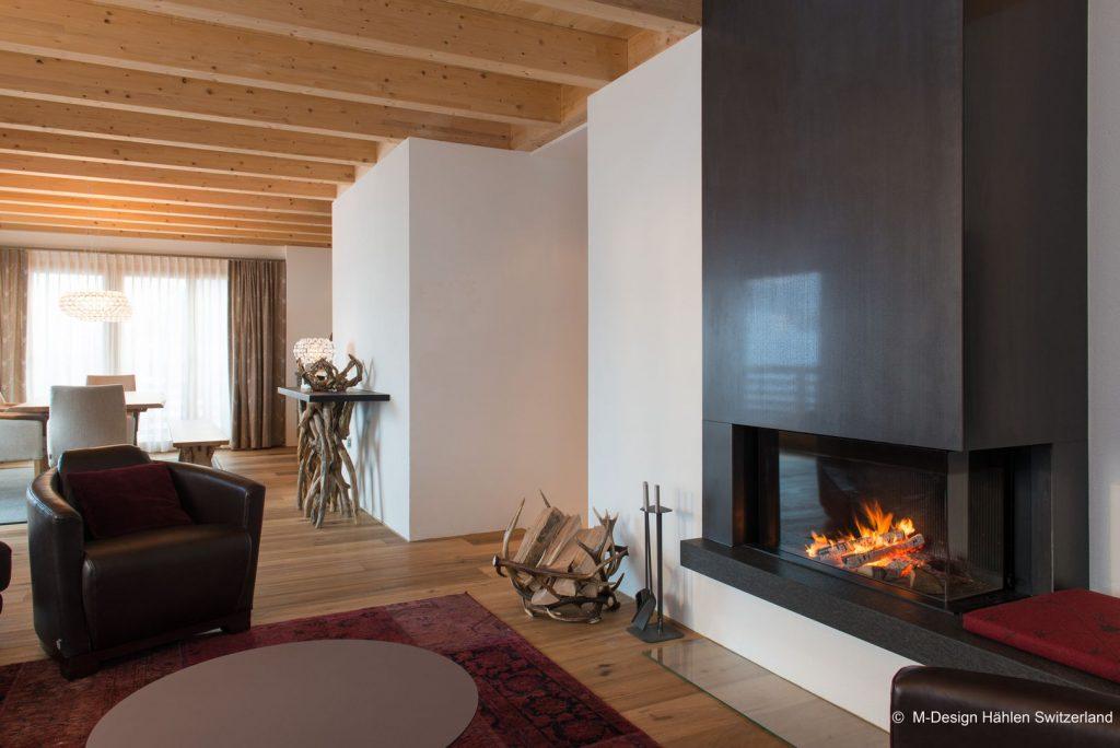 Zariadili sme si obývačku v Style: krb, knihy a pohodlné pohovky